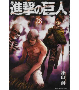 Shingeki no Kyojin (El ataque de los titanes) Vol. 28