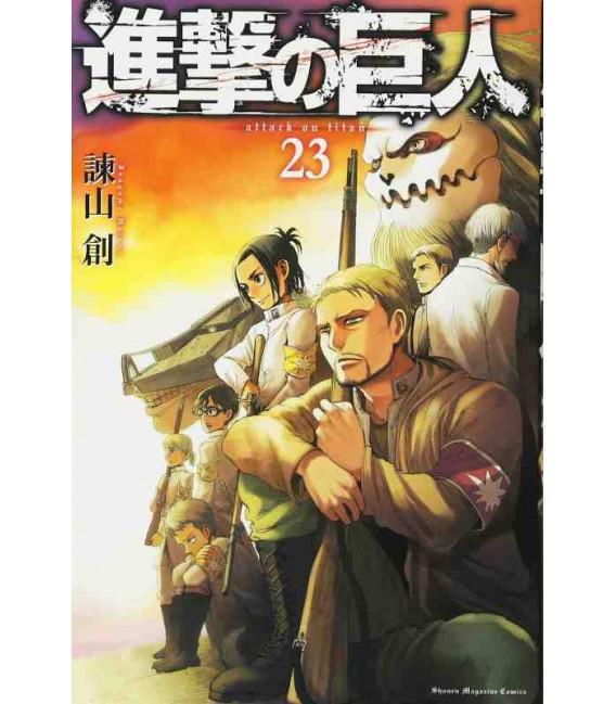 Shingeki no Kyojin (El ataque de los titanes) Vol. 23