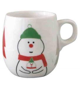 Decole - Christmas Snowman Mug - Modell ZXS-74041