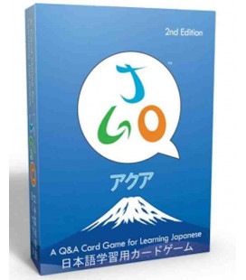 JGO Aqua - A Q&A Card Game for Learning Japanese - 2nd Edition