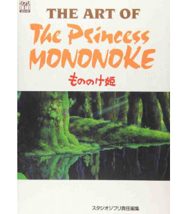 The Art of Princess Mononoke - Film Bilderbuch