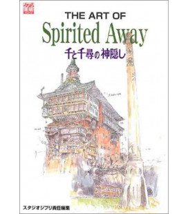 The Art of Spirited Away - Film Bilderbuch