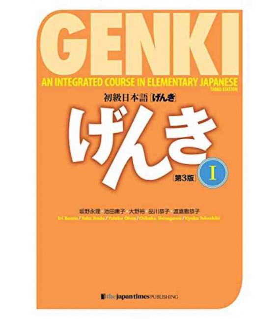 Genki - An Integrated Course in Elementary Japanese Vol.1- Textbook - 3rd Edition - Beinhaltet Audio in der App