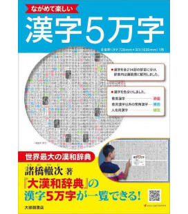 Enjoy looking at 50,000 Kanji - Kanji-Poster