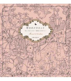 Shiawase no menuetto - Menuet de bonheur - Malbuch
