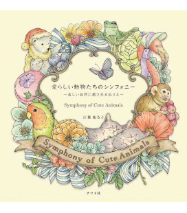 Symphony of Cute Animals - Malbuch