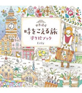 Seikaiisan-ji o koeru tabi Nuri E book - Malbuch