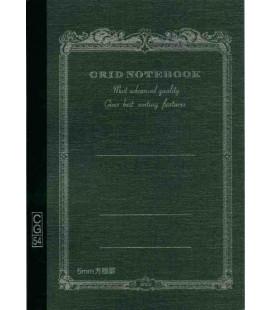 Apica CG54 - Notebook (Grösse B6 - Schwarze Farbe - Kariert - 104 Seiten)