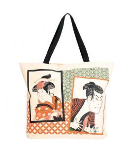 Japanische Tasche Kurochiku - Modell Multi-Art Actor Picture - 100% polyester