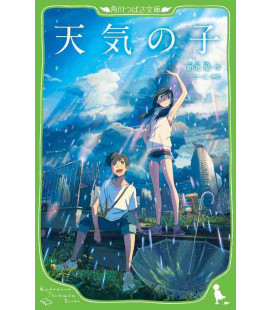 Tenki no ko (Weathering with You) Japanischer Roman von Makoto Shinkai - Auflage mit Furigana
