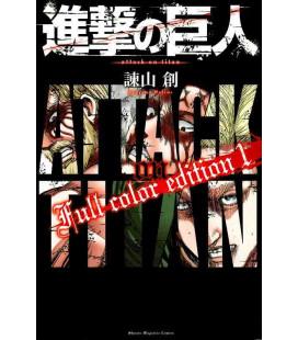 Shingeki no Kyojin (Der Angriff der Titanen) Full color edition 1