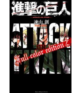 Shingeki no Kyojin (Der Angriff der Titanen) Full color edition 2